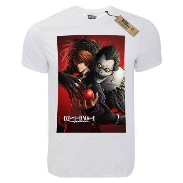 T-shirt unisex Takeposition T-cool λευκό Death Note, 900-1007