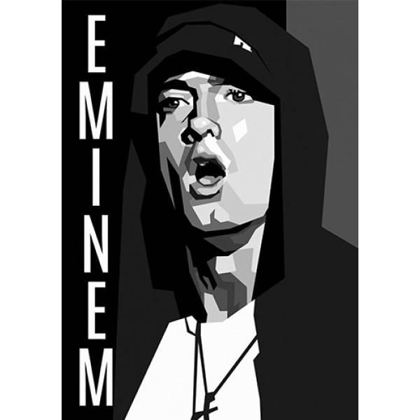 Hoodie φούτερ με κουκούλα Takeposition H-cool Eminem Graphic λευκή 907-7520