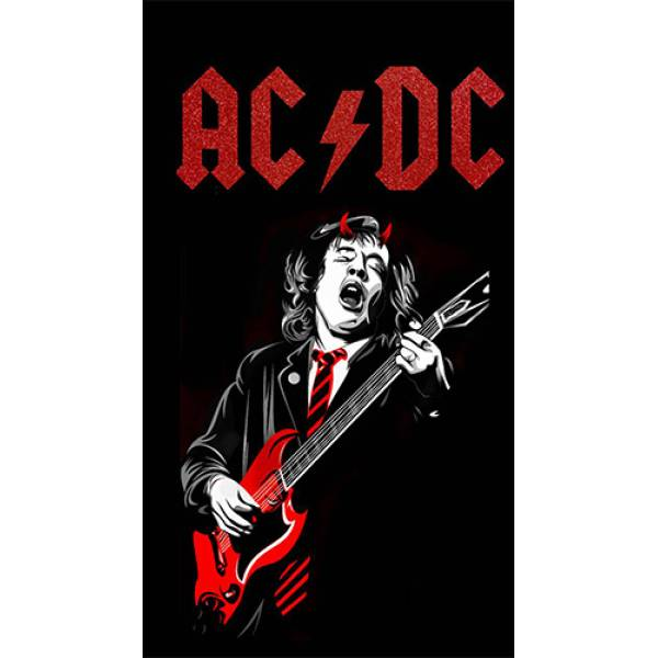 Hoodie φούτερ με κουκούλα Takeposition H-cool Acdc Rock Forever λευκή 907-7514