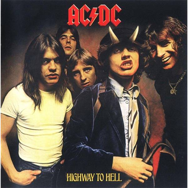 Hoodie φούτερ με κουκούλα Takeposition H-cool Acdc Highway to Hell λευκή 907-7516