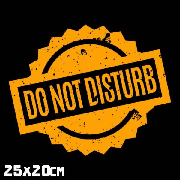 Γυναικεία μπλούζα λεπτή μακρυμάνικη βαμβακερή, Takeposition, Do not Disturb, μαύρο, 505-1512