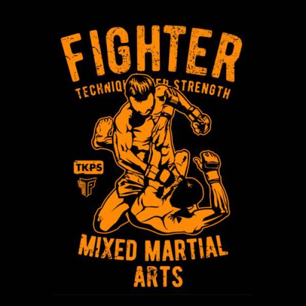 ΜΠΛΟΥΖΑ ΦΟΥΤΕΡ 270GR, TAKEPOSITION, MMA FIGHTER, 3 ΧΡΩΜΑΤΑ, 311-5511