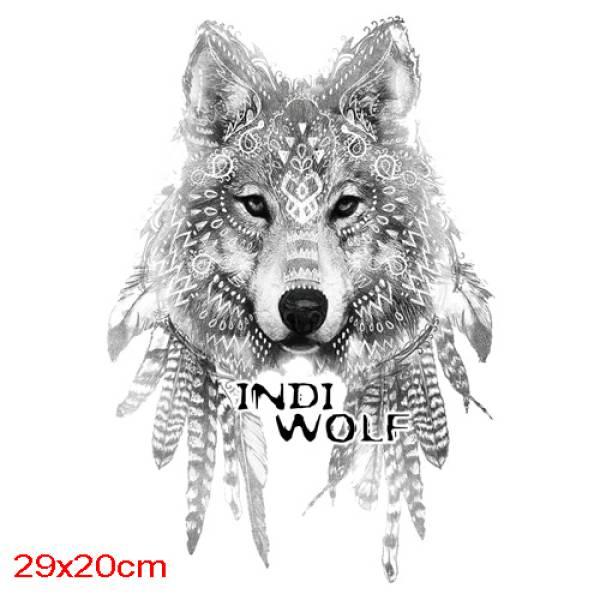 T-SHIRT ΑΝΔΡΙΚΟ, TAKEPOSITION, INDI WOLF, ΛΕΥΚΟ, 307-6004