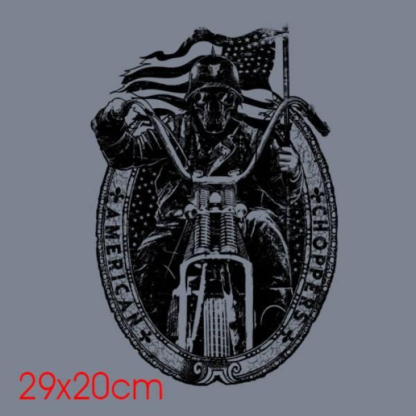 ΜΠΛΟΥΖΑ ΦΟΥΤΕΡ 270GR, TAKEPOSITION, AMERICAN CHOPPERS, ΚΟΚΚΙΝΟ, 311-9007