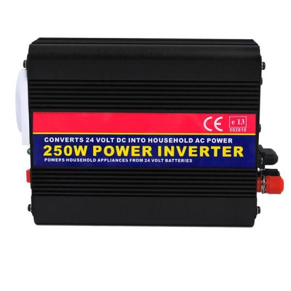 POWER INVERTER, ΜΕΤΑΣΧΗΜΑΤΙΣΤΗΣ 24V ΣΕ 250W, AUTOLINE, 10056