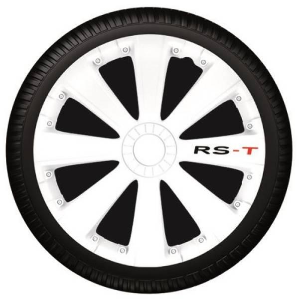 AUTOLINE ΤΑΣΙΑ ΑΥΤΟΚΙΝΗΤΟΥ ARGO, RS-T WHITE, σετ 4τάσια, 13-13640